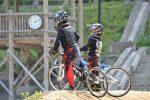 長男vs次男の兄弟対決@ゴリラ公園BMXコース