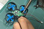 中学生長男の自作FPVマイクロドローンを飛ばす