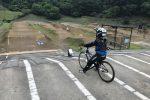 【長男のFPVマイクロドローン】初めての野外飛行@秩父滝沢サイクルパークBMXコース